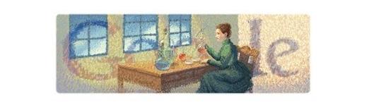 Doodle - Marie Curie